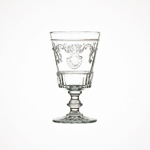 versailles goblet - large, clear