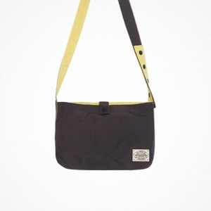 reversible two-way cross bag - charcoal